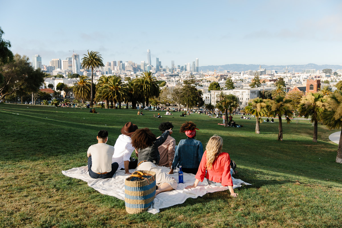 Delores Park Lifestyle Photo Shoot