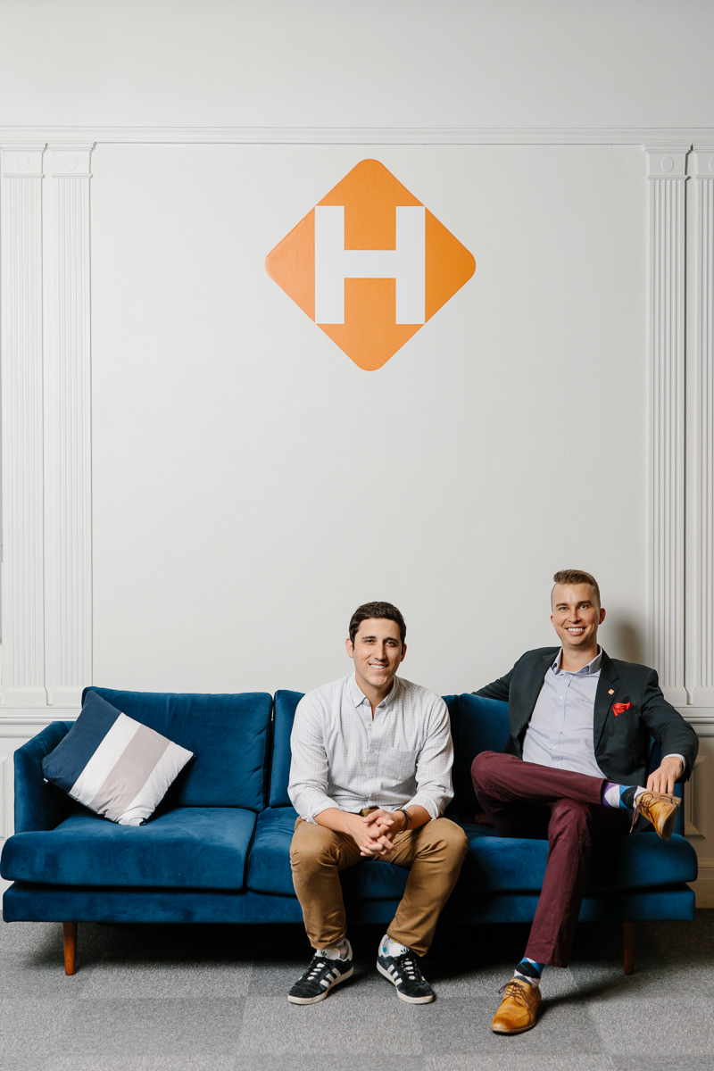 Hinge Health Co-Founders Environmental Portrait