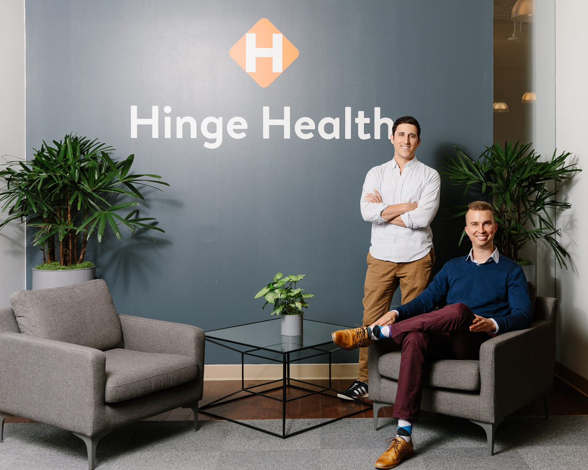 Hinge Health Co-Founders Executive Portrait